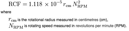 rcf-equation
