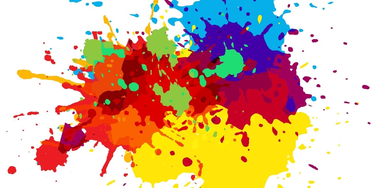 Image of colorful stains highlighting the various special stains for histology