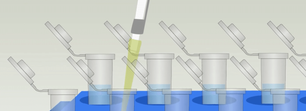 Pipetting error tips