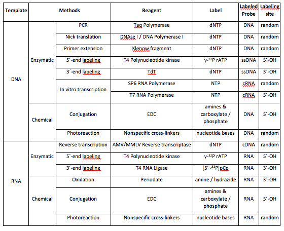 How (and Why) to Label Nucleic Acids