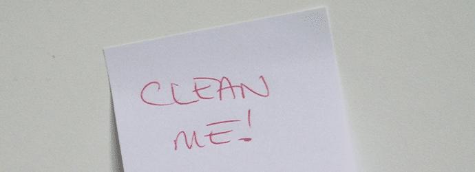 CLEAN ME!