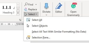 Using Word to Write your Thesis: Making a Table of Contents, Inserting Captions, and Cross-referencing